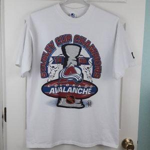 Vintage 1996 Colorado Avalanche Stanley Cup Shirt